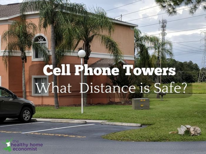 Cell Phone Towers. What Distance is Safe to Live?