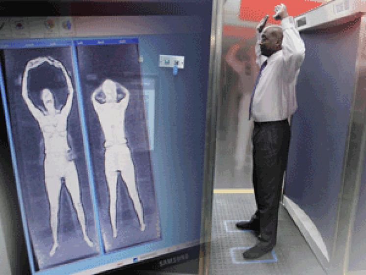 New Airport Scanners Using 5G Technology