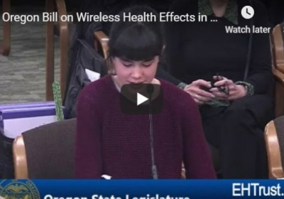 Oregon's School Wireless Safety Bill Passes Senate